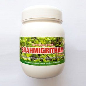 Brahmi Tone – Memory power, reduce anxiety, relief stress (1 spoon mix with hot milk and have it after dinner)