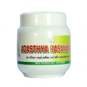 Agasthya Rasayanam – Cough, Bronchitis, asthma, dust allergy (Twice daily after food)